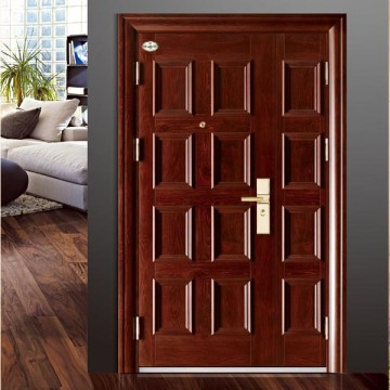 2017 Steel Swing Security Puerta de lujo para apartamento y villa