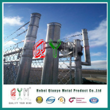 Qym-PVC Chain Link Fence (manufacture)