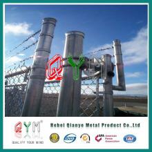 Qym-PVC Vedação Chain Link (fabricação)
