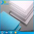 Proteção UV de alta qualidade Peso 8mm de folha de parede gêmea de policarbonato