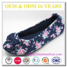 Novo design bonito suave única china sapatos das mulheres