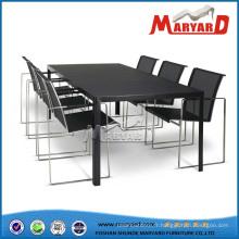Chaises en acier inoxydable de table d'acier inoxydable de chaise d'acier inoxydable
