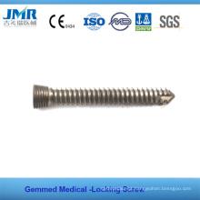 Ce Marcado Implante ortopédico totalmente estocado Titanium Alloy Torx Locking Screw