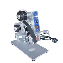 DY-8 hot selling factory price Color hot coding foil ribbon hot date printing Manual coding machine