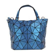 Wholesale Geometric Women Hand Bags Ladies Handbags Mobile Phone Shoulder Bag Crossbody PU Leather Plastic Tote for Women