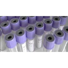 Tubo de la colección de la sangre del vacío para la contraportada, (EDTA K3 / K2)