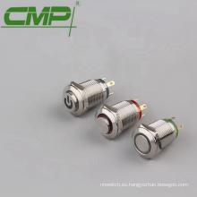 Diámetro 12mm Interruptor de Luz IP67