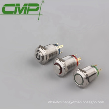 Diameter 12mm IP67 Light Switch