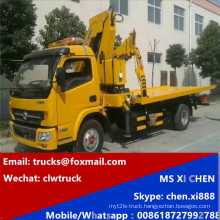 Hot Sale 3.2 Tons Kunckle Crane Mounted Towing Wrecker