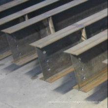Structure en acier / profil Acier / H Beam