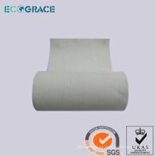 Proceso seco de carbón homo acrílico tela polvo filtro bolsa tela