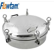 sanitary round pressure tank manhole