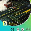 Commercial 12.3mm Mirror Teak Water Resistant Laminate Floor