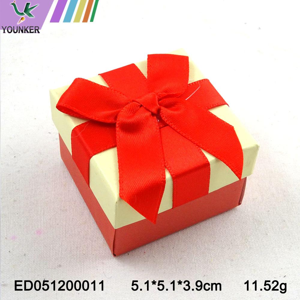 Elegant Ribbon Ring Boxes 002
