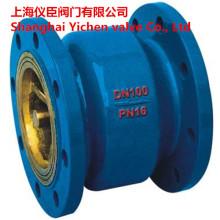 Молчаливый тип вертикальной канализации обратный клапан