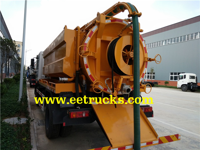 7000 Liters Sewer Cleaning Trucks