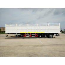 35ton Tri-axle Cargo Box Semi Trailers
