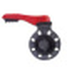 Válvula de mariposa / Válvulas de plástico industriales / válvula de mariposa de PVC