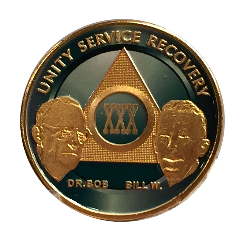 Plated Custom Founders Metal Medallion Coins