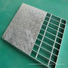 Reja compuesta y reja de FRP, reja de acero galvanizado, reja de la barra