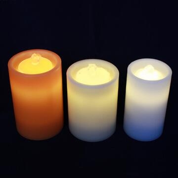 Perfect LED fountain candle