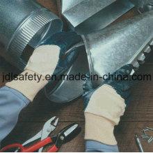 Terry Pinsel gestrickte Handschuhe mit halben Nitril-Beschichtung-Nitril (NB1510) arbeiten