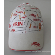 New Design Travel Printing Cotton Cap