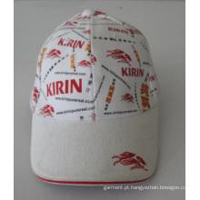Novo Design Travel impressão algodão Cap