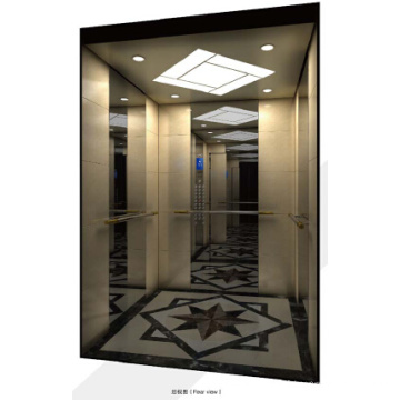 Ascenseur d'appartement de petite taille de pièce de machine de Sicher 1000kg