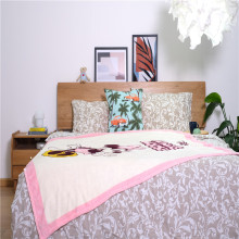 Innocent Minnie Mouse Printed Double Fleece Throws Blankets