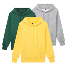 Quality Black Color Cotton Pullover Hoodie 320 Gsm Hoodie For Custom Printing