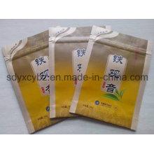 Tee-Aluminiumfolie Ziplock Kunststoff-Verpackungsbeutel