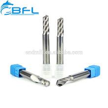 Концевые фрезы BFL с ЧПУ, твердосплавный фрезерный инструмент с длинным хвостовиком