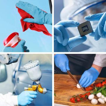 Lebensmittelzubereitung Nitril-Einweghandschuhe