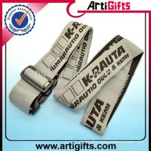 2014 Custom logo polyester travel luggage belt