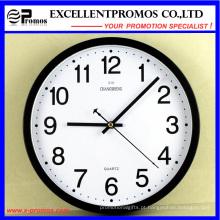 12 polegadas de plástico rodada relógio de parede (EP-101)