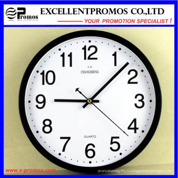 12-дюймовые круглые пластиковые настенные часы (EP-101)