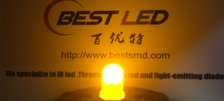 5mm yellow diffused LED