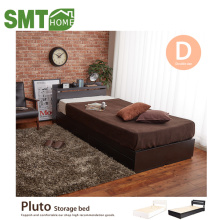 428 Pluto storage MDF wood bed designs