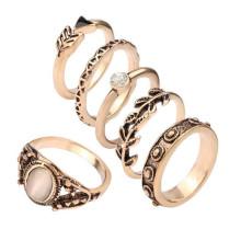 Preiswerter Schmucksache-Kronen-Art- und Weiselegierungs-Ring-neuer Modell-weeding Ring