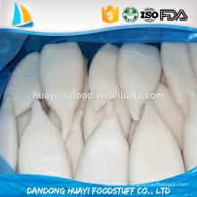 Nova produção de primeira prioridade frescos calamar tubo produtos aquáticos