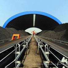 Hangar de stockage imperméable de cadre d'espace préfabriqué pour l'extraction de charbon