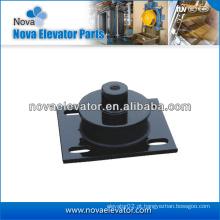 Almofada de elevação do elevador para a máquina da tração do elevador, elevador Almofada anti-vibração