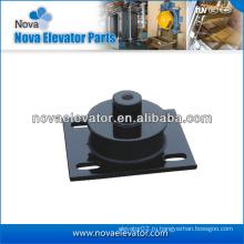 Лифт демпферная подушка для тяговой машины лифта, антивибрационная подушка для лифта