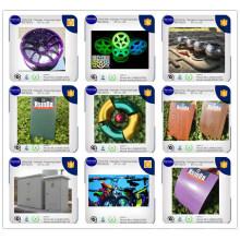 Indoor/Outdoor Epoxy/Polyester Metallic Thermosetting Electrostatic Paint Powder Coating
