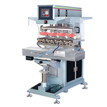 Four Colors Pad Independent Pad Printing Machine with Shuttle