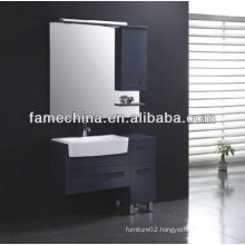 New MDF bathroom furniture Glass basin foshan furniture