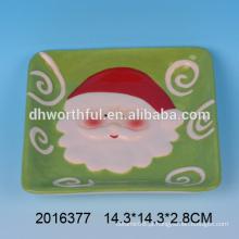 Excelente cozinha de Natal, cerâmica santa placa grossista