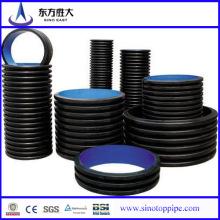 Nouveaux produits! Pipe de drainage ondulé HDPE Fabricant chinois