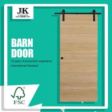 JHK18 Inch Shaker Style Solid Wooden Barn Door
